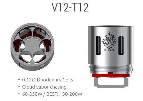 TFV12 T-12 from ISM DISTRIBUTION  buy from The Vaporium