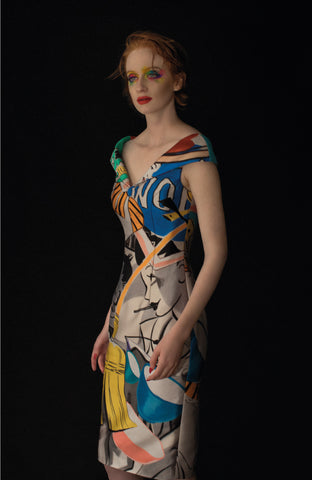 David Salle Cocktail Dress