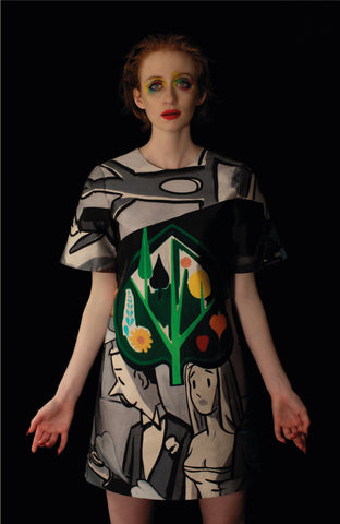 David Salle T-Shirt Dress