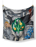 David Salle New Years Party Scarf