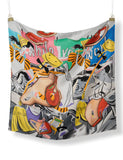 David Salle Autumn Rhythms Scarf