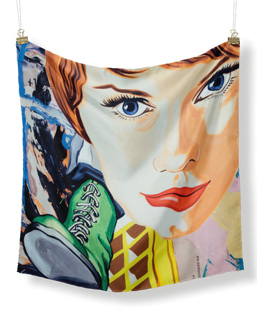 David Salle Lovely Manners Scarf