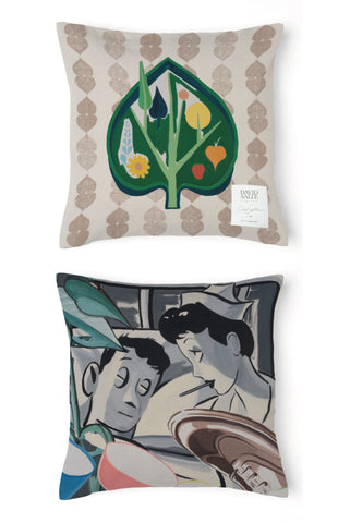 David Salle Clove Pillow