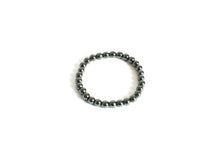 Load image into Gallery viewer, Hematite Beaded Crystal Bracelet