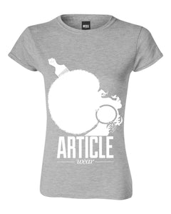 Article Wear Nubian Queen Womens T-Shirt