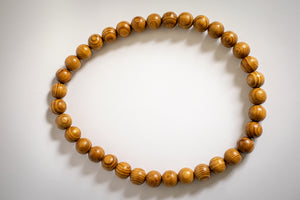 Article Wear Small Bead Long Necklace
