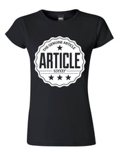 Load image into Gallery viewer, Article Wear Crest Womens T-Shirt
