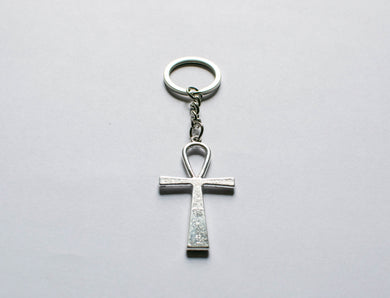 Large Ankh Key Ring