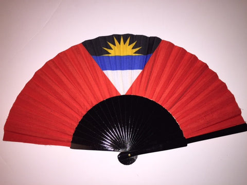 Antigua Barbuda Flag Fan