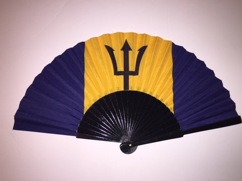 Barbados Flag Fan