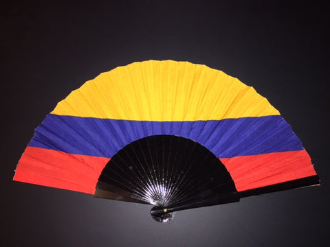 Colombia Flag Fan
