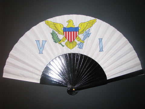 US Virgin Islands FlagFan