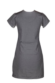 Mary Active Sports Dress, Silver Grey