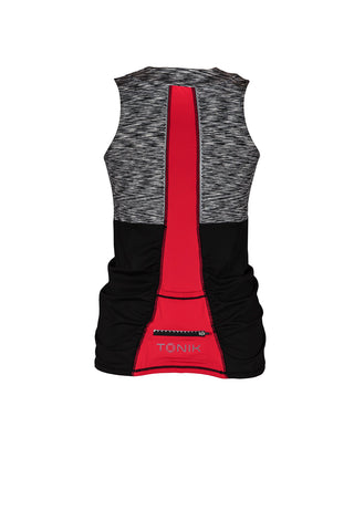 Abbey Cycling Tank Top, Black