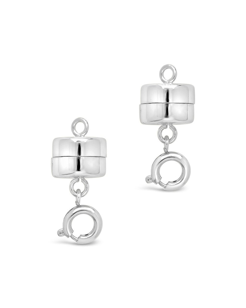 Magnetic Spring Ring Clasp - Sterling Forever
