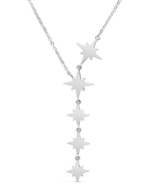 Polished Star Y Necklace Necklace Sterling Forever Silver