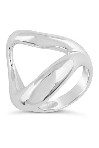 Sterling Silver Open Ring