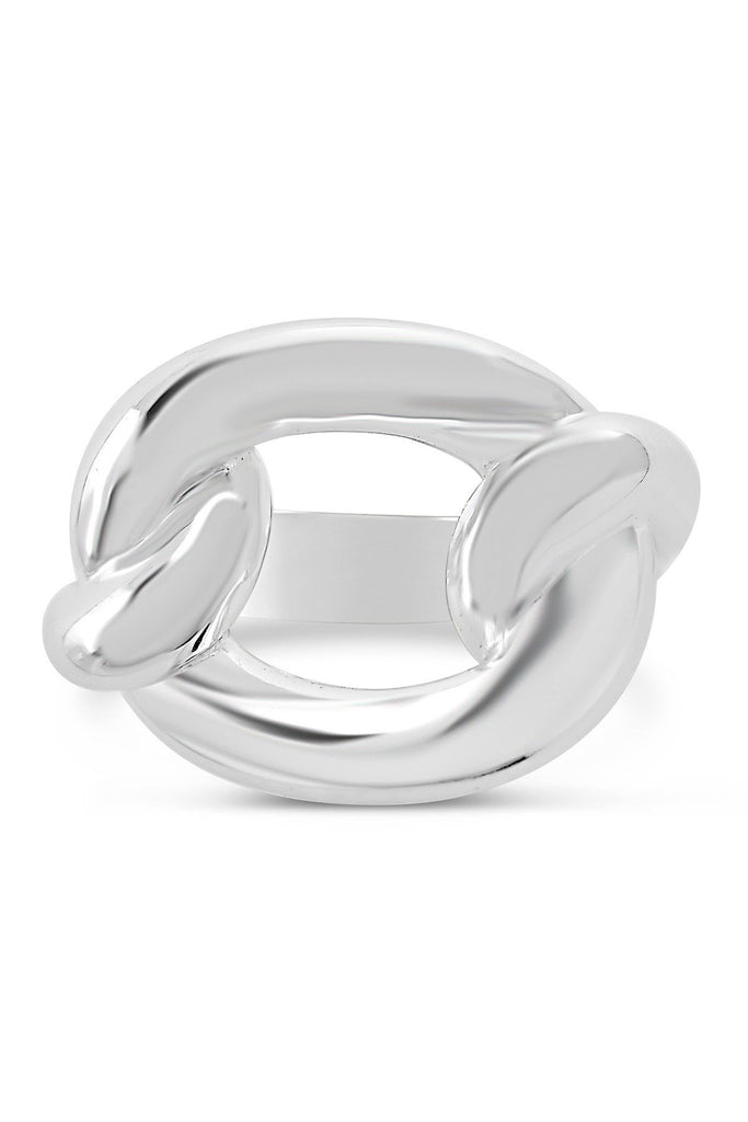 Sterling Silver Chain Link Ring