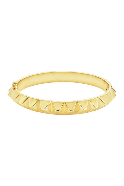 Spiked Bangle Bracelet Bracelet Sterling Forever Gold