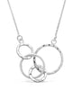 Sterling Silver Multi Linked Necklace - Sterling Forever