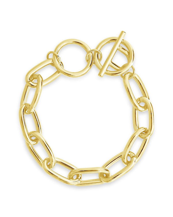 Linked Toggle Bracelet - Sterling Forever