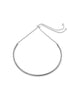 Polished Curved Bar Bolo Bracelet - Sterling Forever