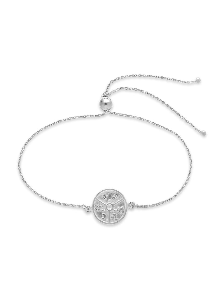 Houses of Astrology Bolo Bracelet