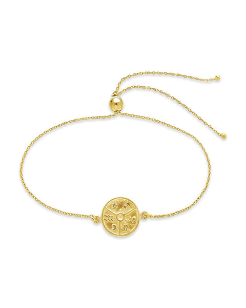 Houses of Astrology Bolo Bracelet - Sterling Forever