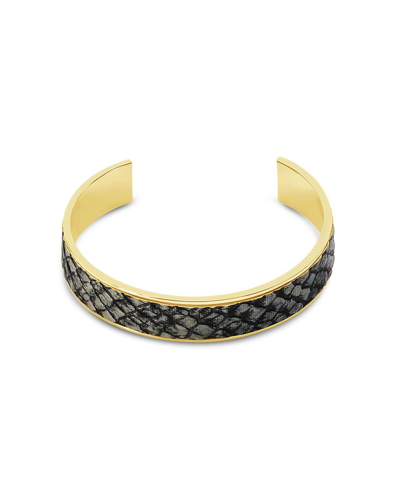 Safari Open Cuff Bracelet - Sterling Forever