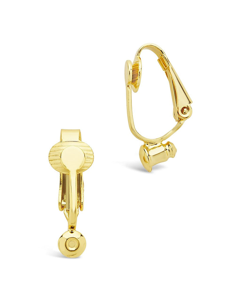 Clip-on Earring Backings Accessories Sterling Forever Gold