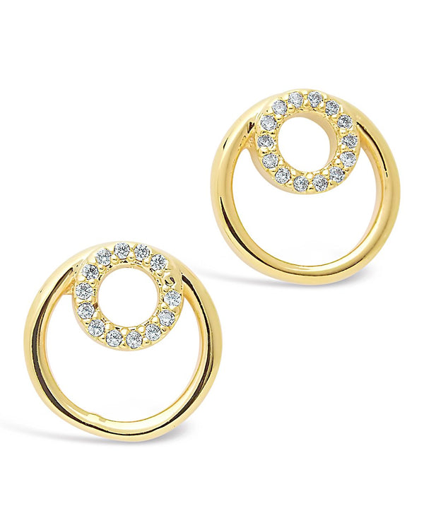 Double O CZ Stud Earrings - Sterling Forever