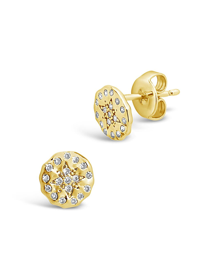 CZ Northern Star Studs Earring Sterling Forever