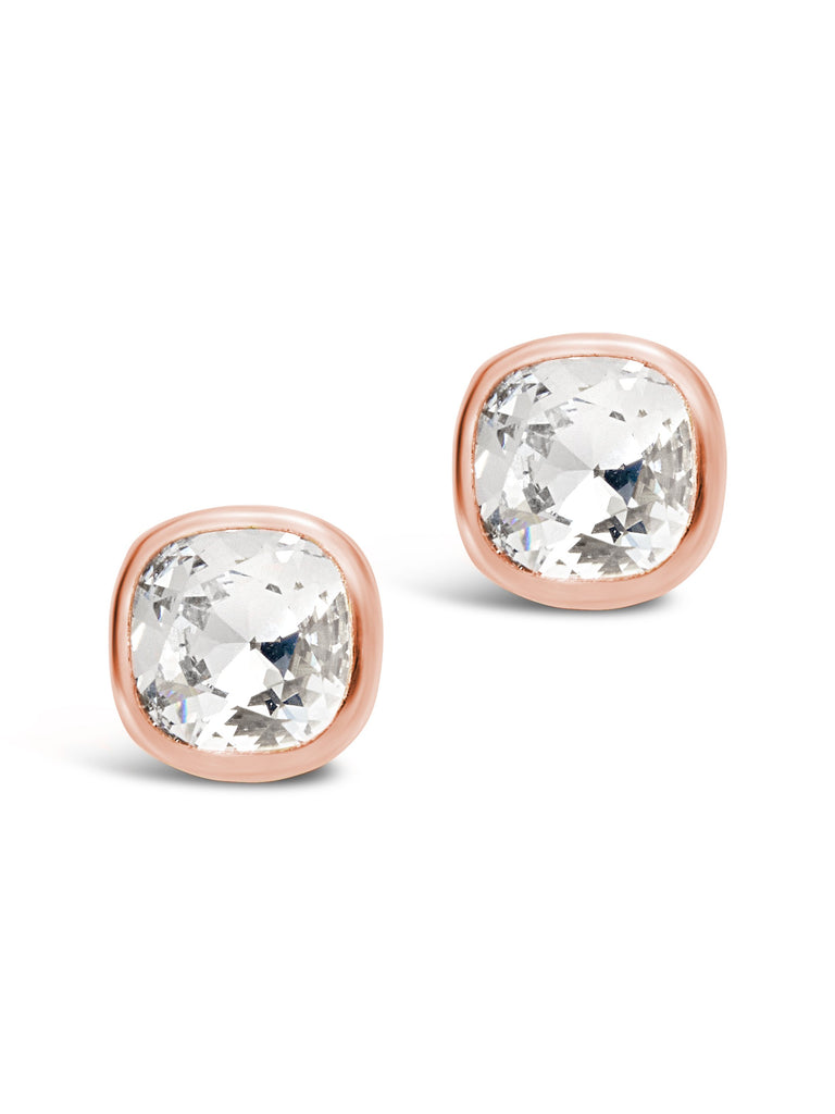 Sterling Silver 10mm Cushion Stud Earrings - Sterling Forever