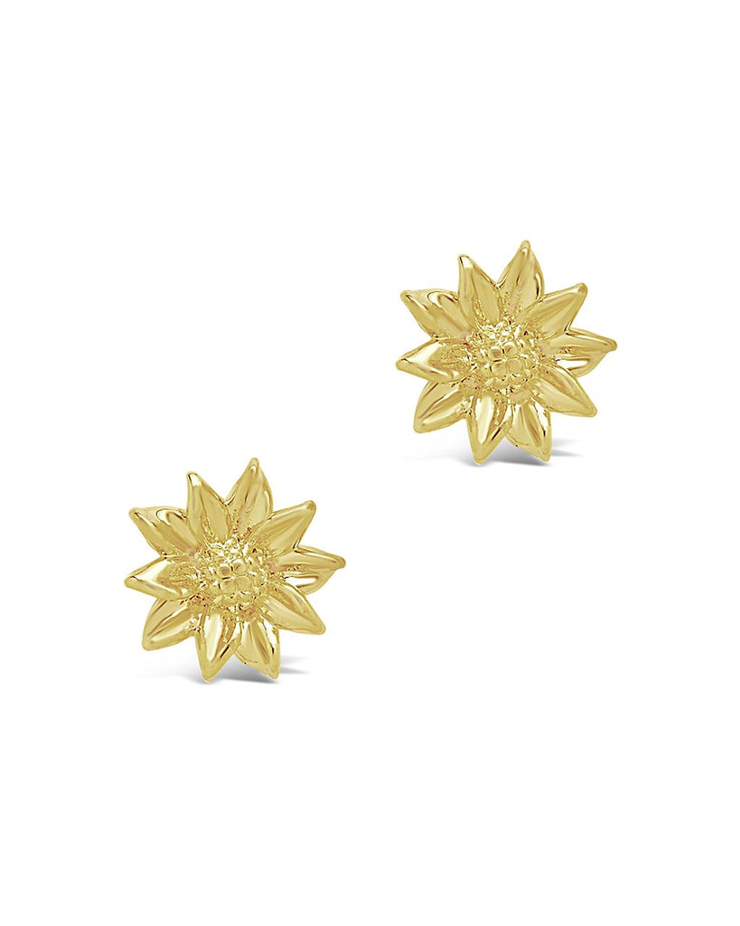 Sunflower Stud Earrings - Sterling Forever