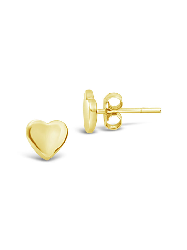 Sterling Silver Heart Studs - Sterling Forever
