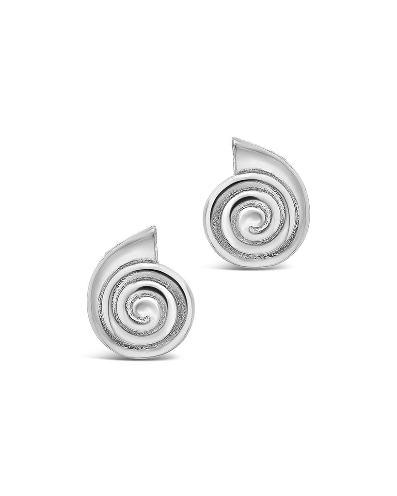 Shark Eye Studs - Sterling Forever