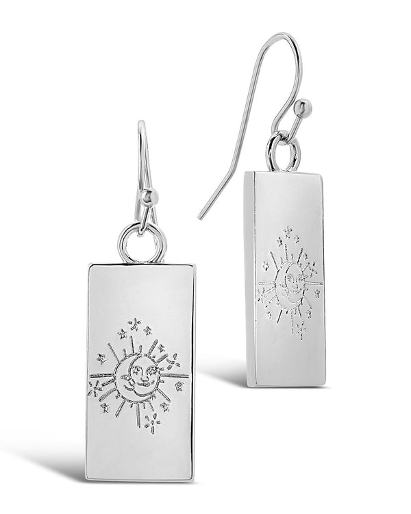Tarot Card Dangle Earrings - Sterling Forever