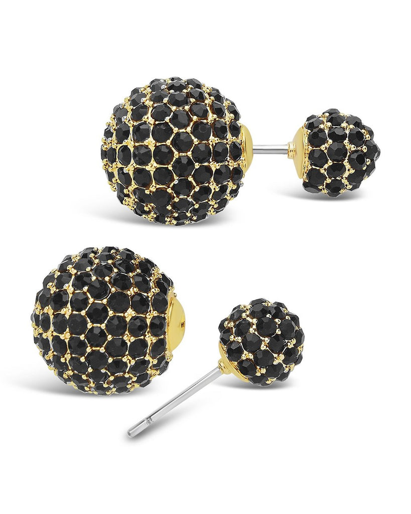 Double Sided Studs Earring Sterling Forever