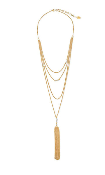 Faye Choker Y Necklace Set Necklace Sterling Forever Gold