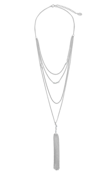 Faye Choker Y Necklace Set Necklace Sterling Forever Silver