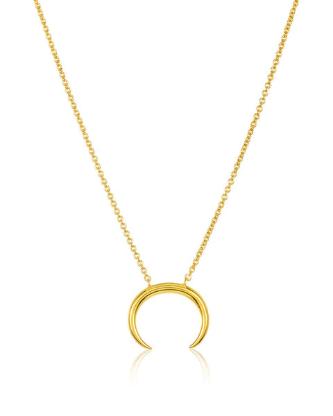 Sterling Silver Horn Necklace - Sterling Forever