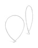 Delicate Threader Hoop Earrings - Sterling Forever