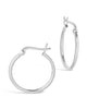 "Sterling Silver .75"" Hoop Earrings - Sterling Forever"
