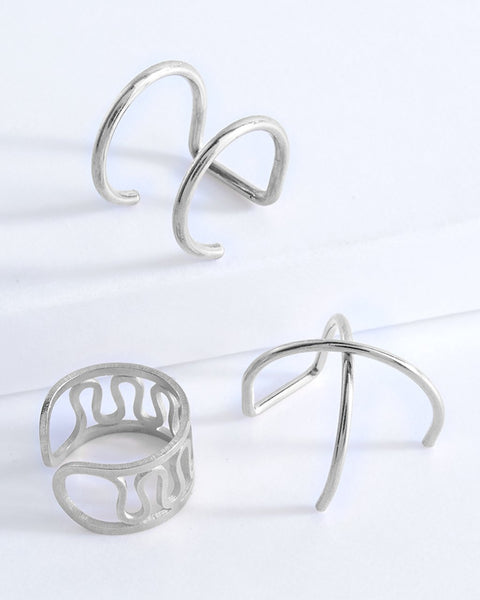 Essential Ear Cuff Set of 3