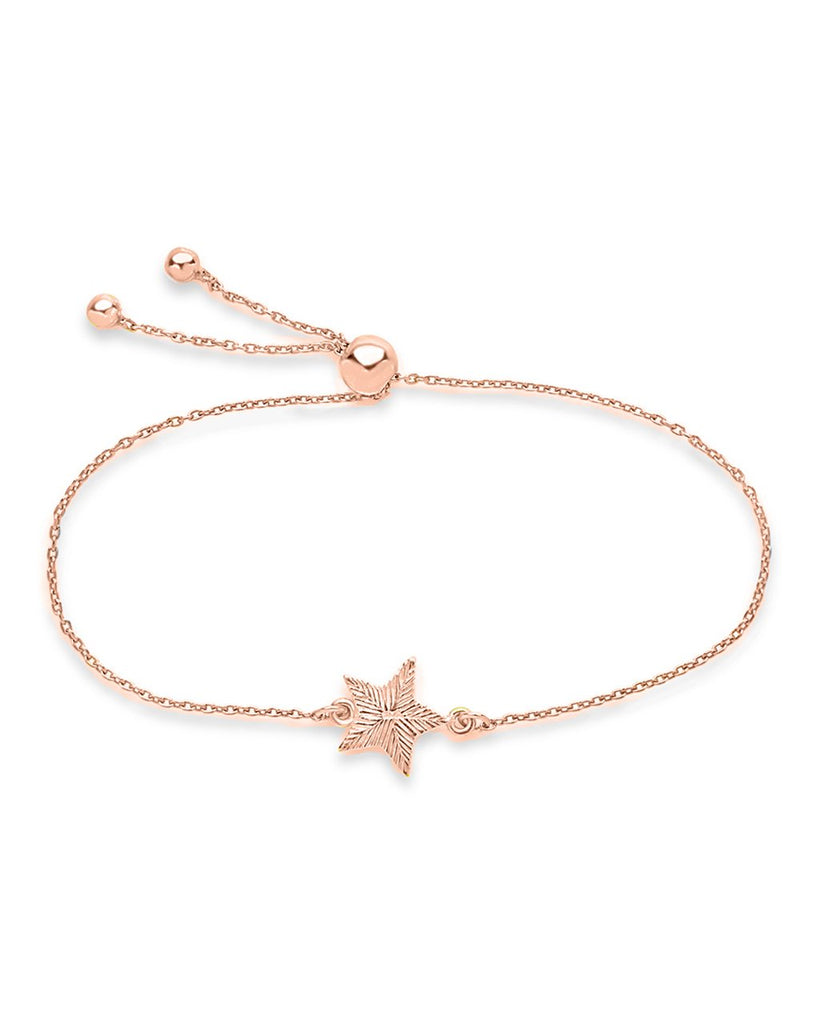 Sterling Silver Star Slider Bracelet - Sterling Forever