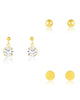 Sterling Silver Essential Earring Set of 3
