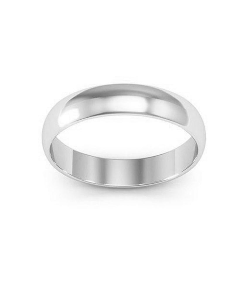 Sterling Silver Classic Wedding Band Ring - Sterling Forever