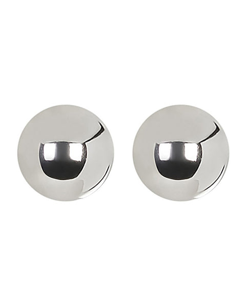 10mm Sterling Silver Bead Earrings