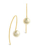 Sterling Silver Pearl Threader Earrings - Sterling Forever