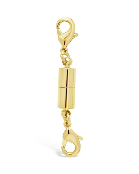 Magnetic Lobster Clasp Necklace Sterling Forever Gold